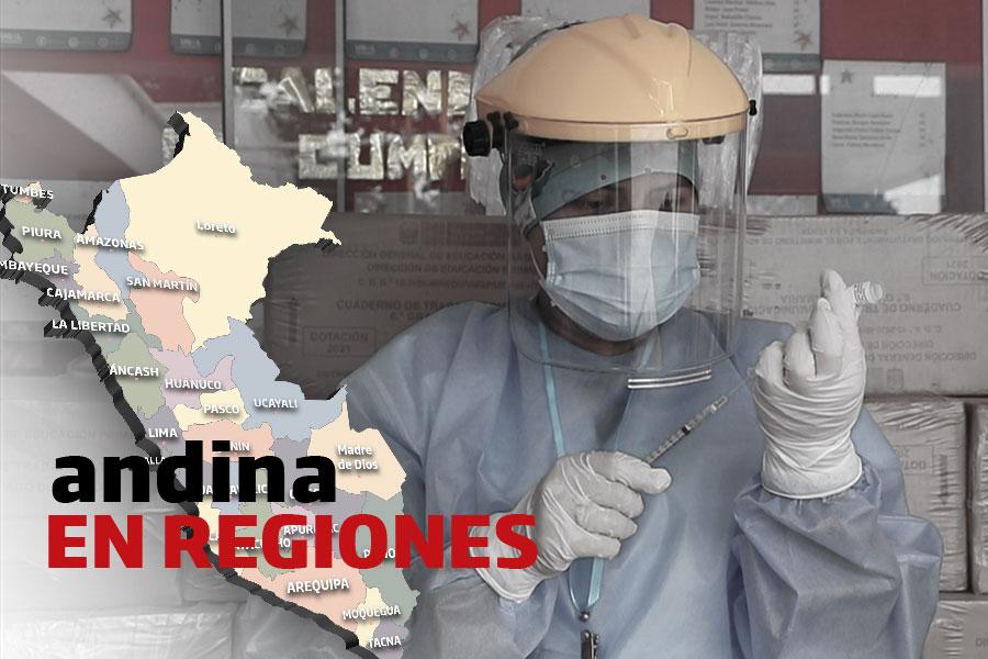 Coronavirus en Perú: segundo día de inmunización a mayores de 80 años en La Libertad