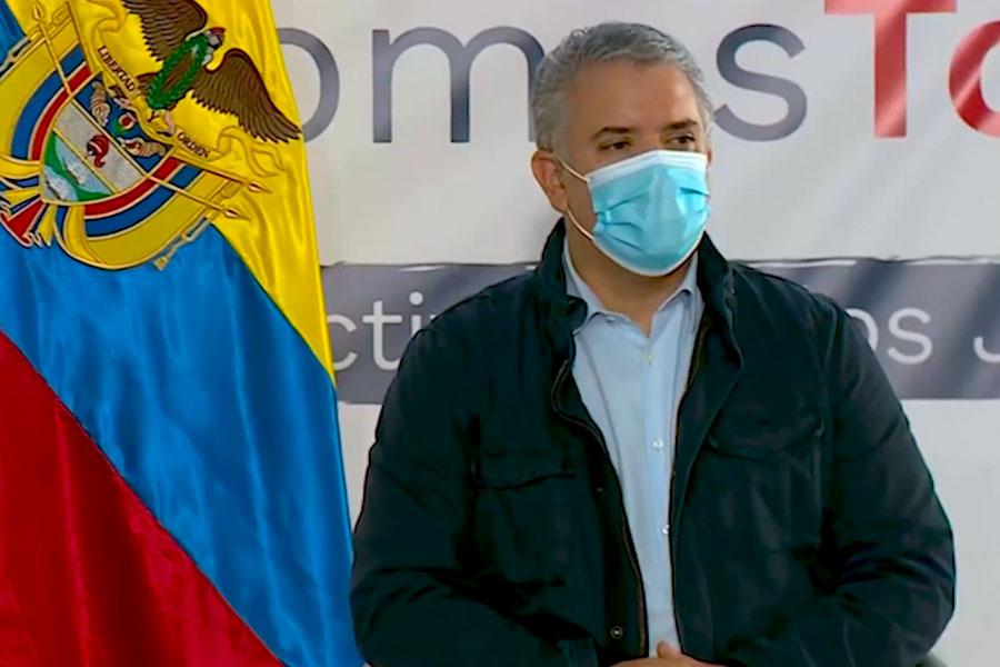 Colombia: Duque dialoga con jóvenes en medio de protestas