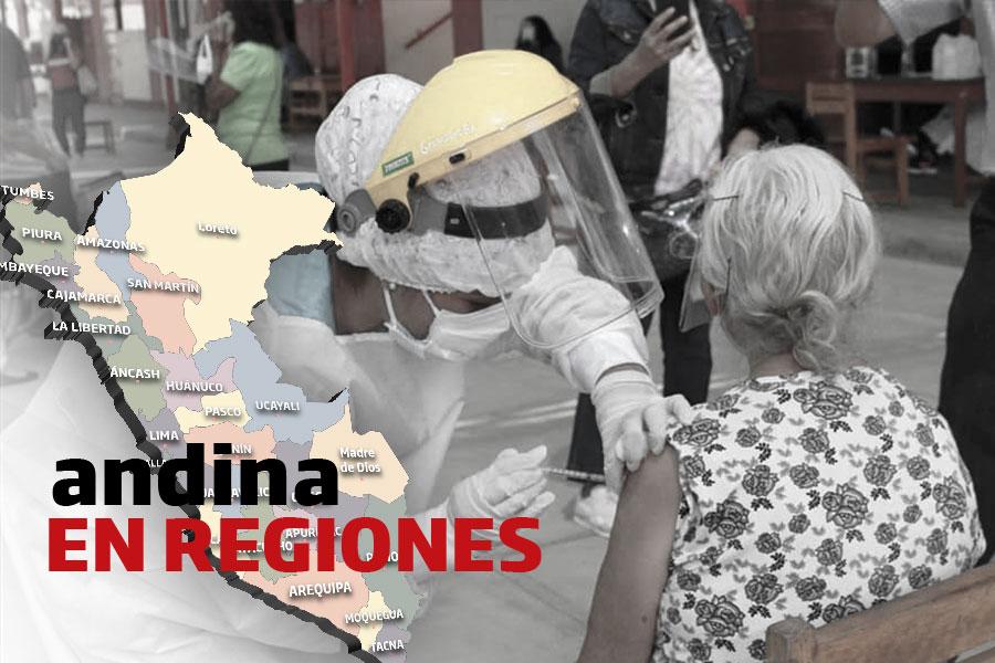 Coronavirus en Perú: se inició vacunación para mayores de 70 años en 13 distritos de Arequipa