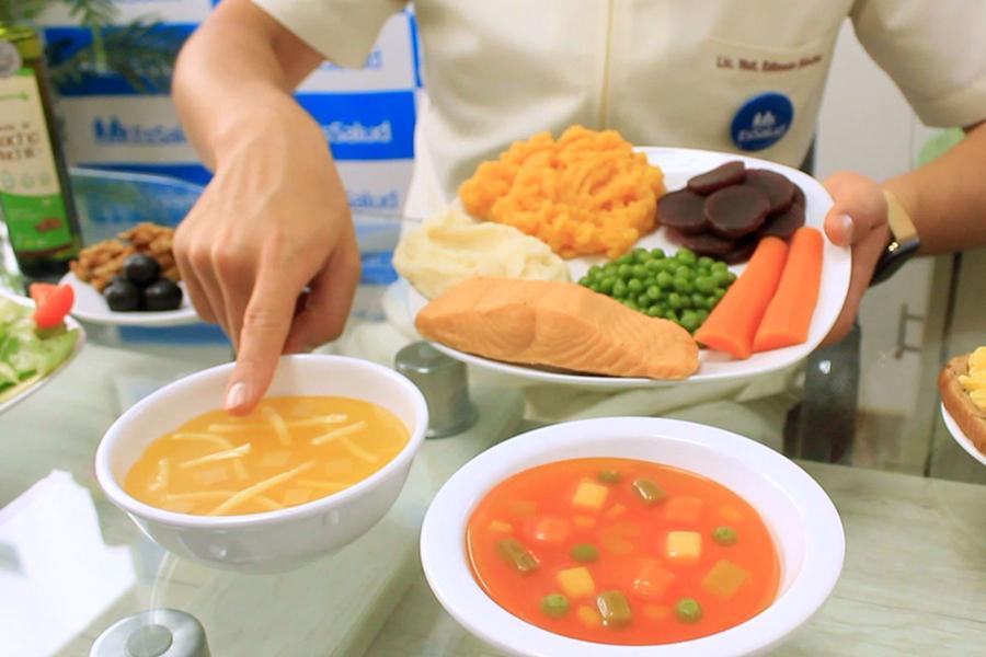 Alimentación para pacientes que superaron el covid-19