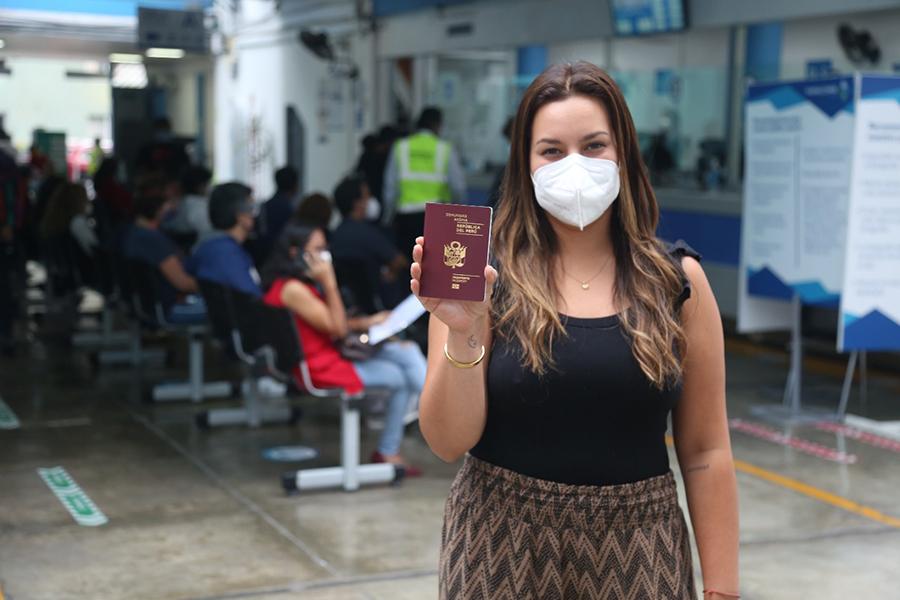 Migraciones emitirá pasaportes electrónicos las 24 horas en su sede central