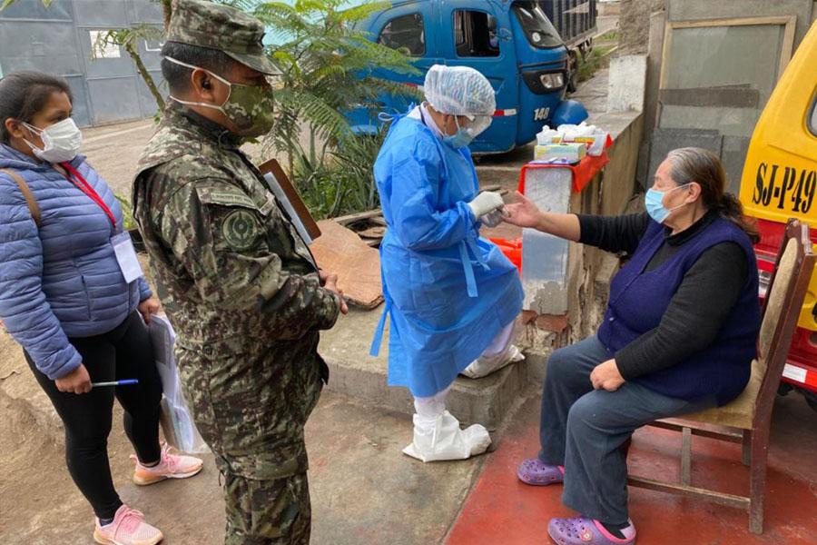 Ministra Esparch: operación Tayta atendió a 57 mil personas en este año