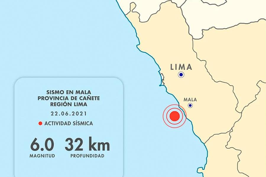 Sismo de magnitud 6 en Cañete generó gran alarma entre limeños