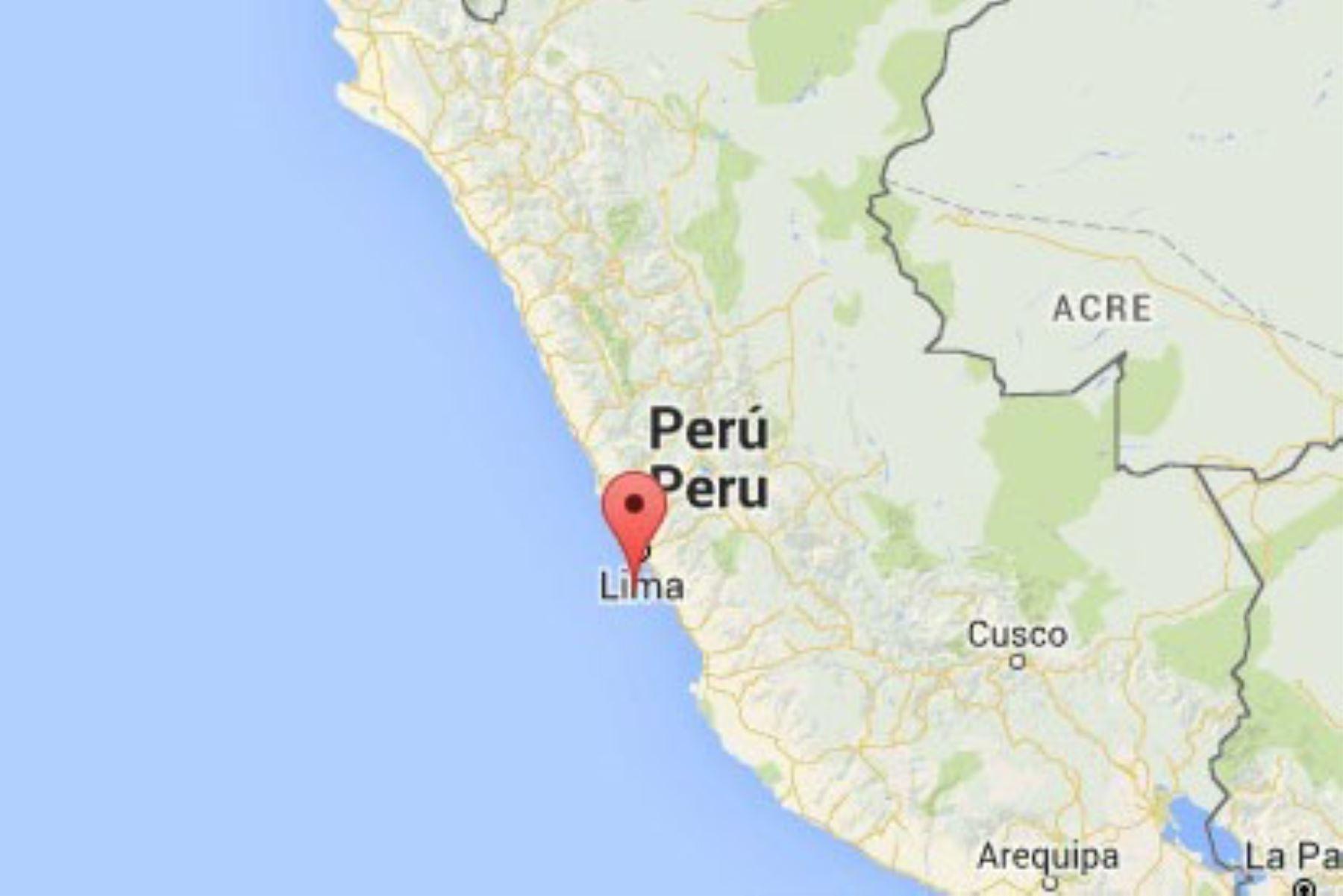 Nuevo temblor de magnitud 4.8 se registró esta mañana en Cañete y se sintió en Lima