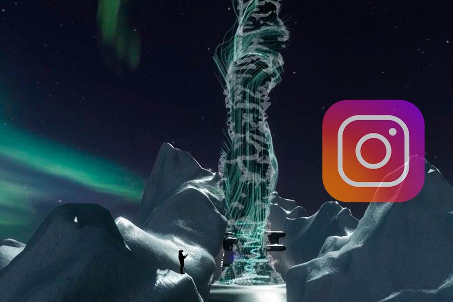 Con data de Instagram construyen rascacielo virtual
