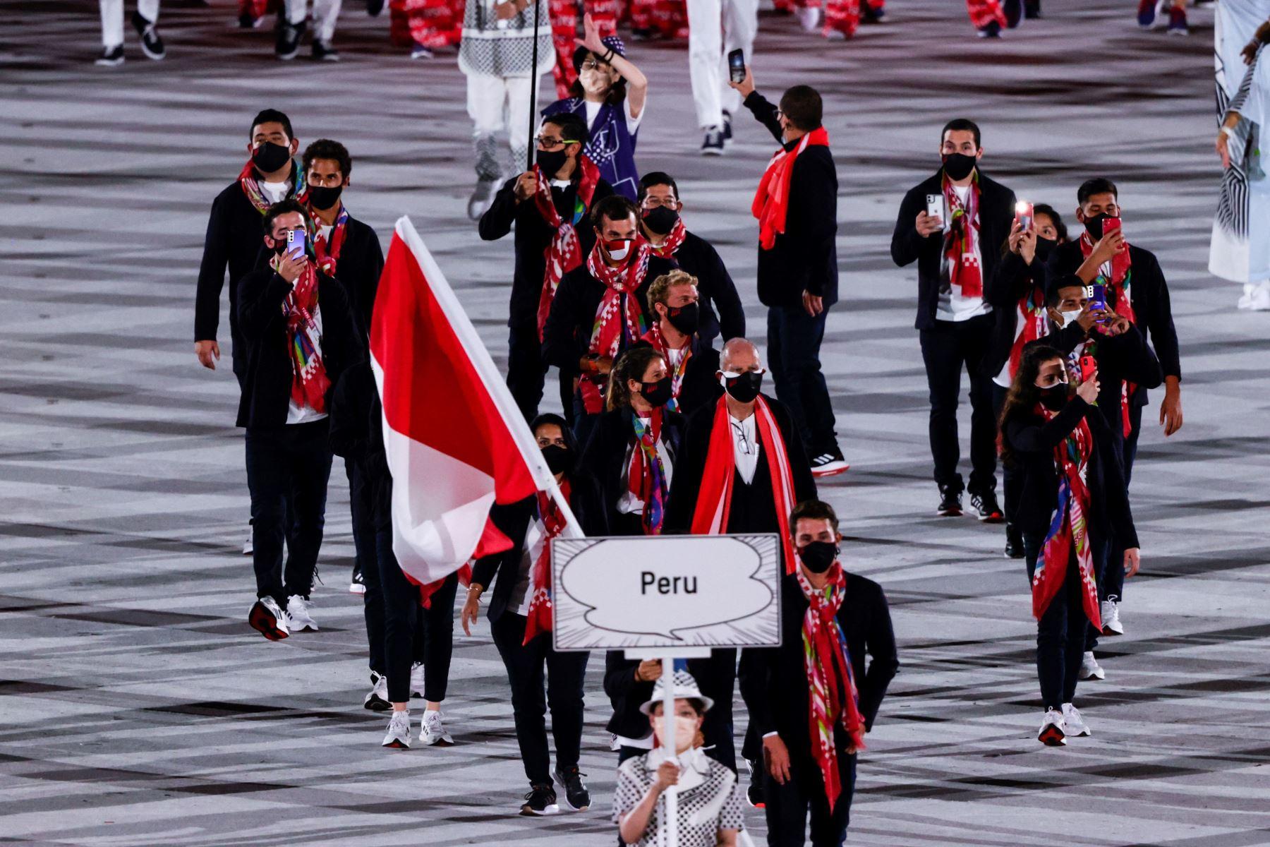Tokyo 2020: el desfile de Perú en los Juegos Olímpicos