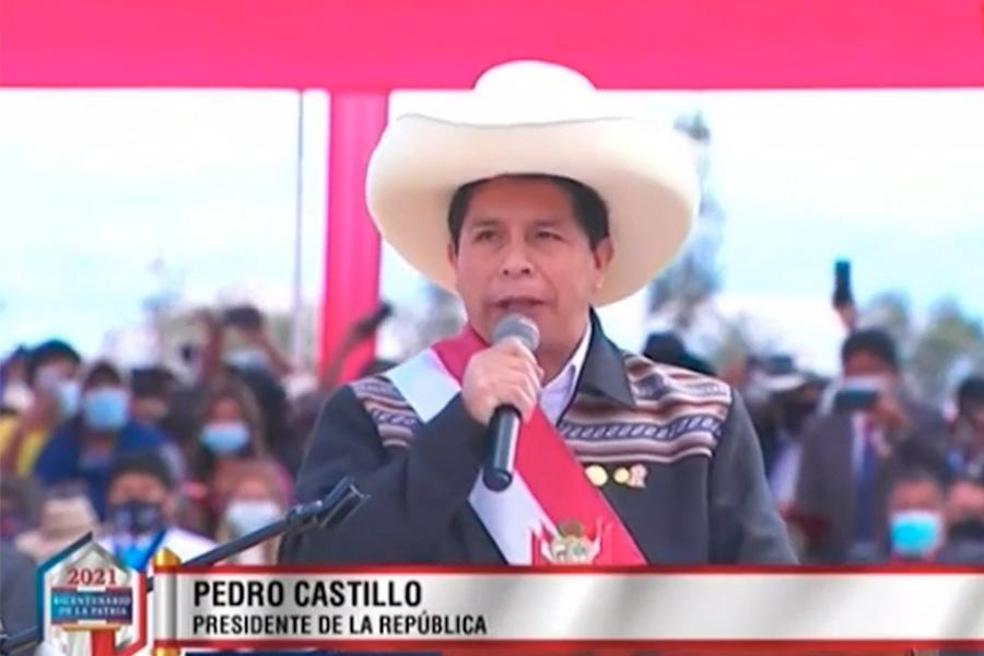 Presidente Castillo: aquí su discurso completo en Ayacucho