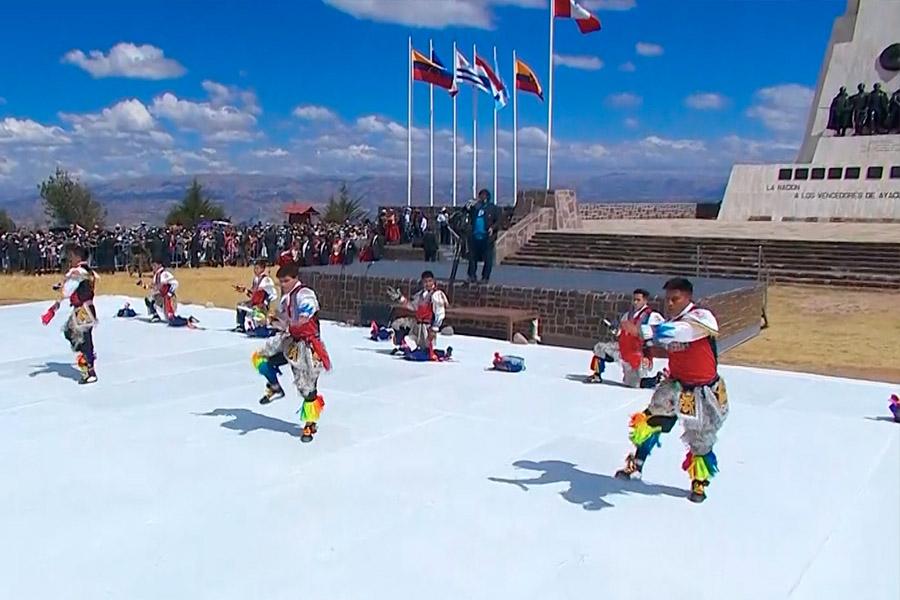 Bicentenario: así se vivió la fiesta en la Pampa de Ayacucho