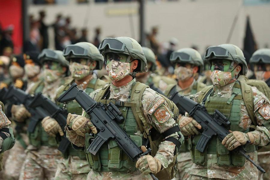 El paso valiente del Ejército del Perú en Gran Parada Cívico Militar