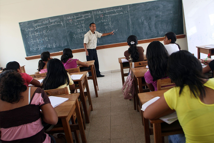 """Minedu: """"objetivo es garantizar condiciones de bioseguridad para retorno a aulas"""""""