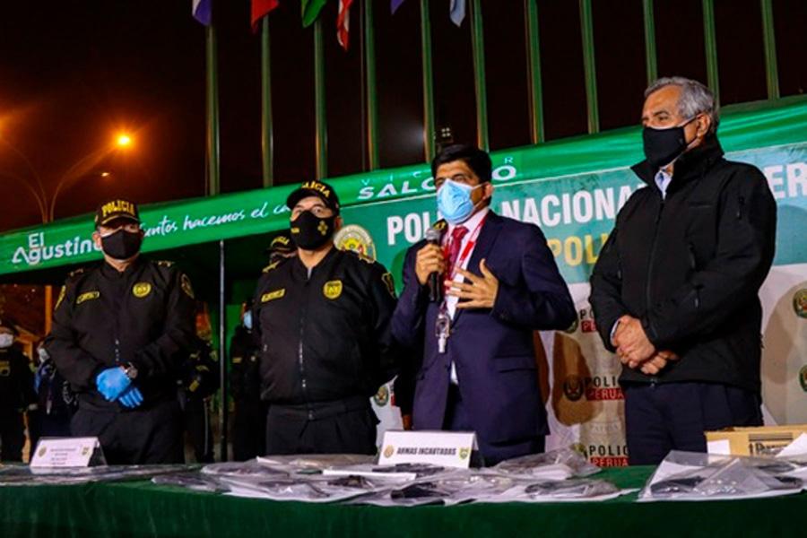 "Ministro Carrasco: ""Vamos a continuar la lucha frontal contra la delincuencia"""