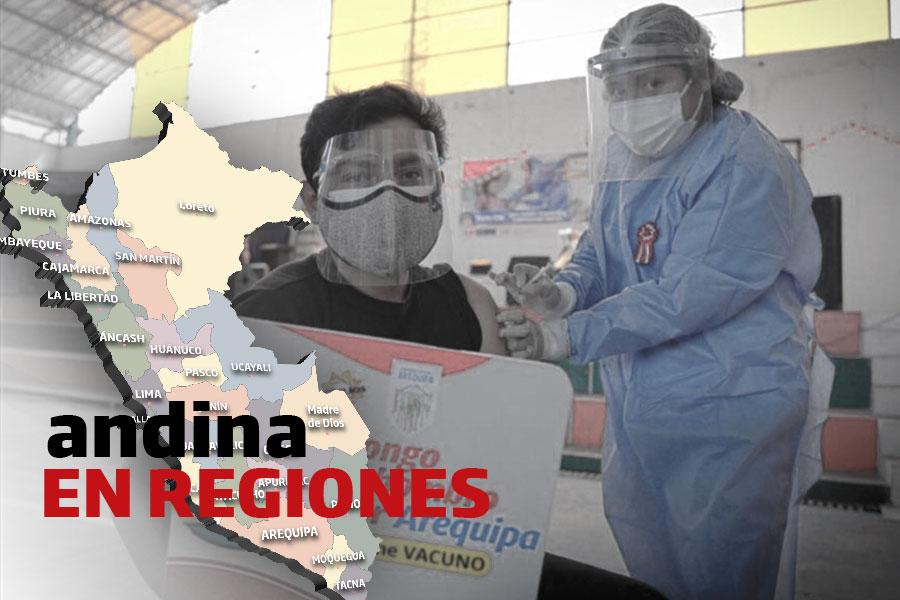 Coronavirus en Perú: aplicarán primera dosis a personas de 45 a 49 años en Arequipa