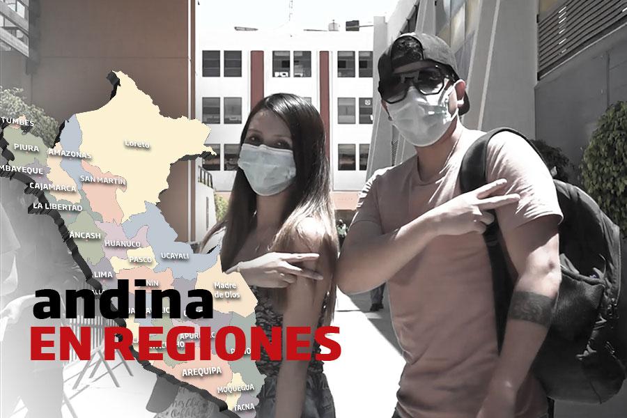 Coronavirus en Perú: más de 56 mil estudiantes universitarios recibieron primera dosis en Arequipa