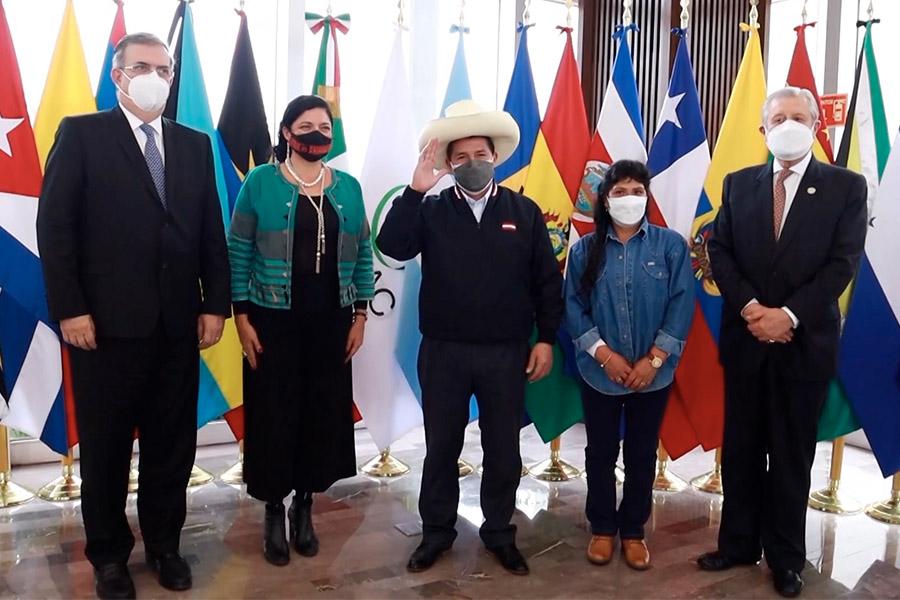 Así fue la llegada del presidente Pedro Castillo a México