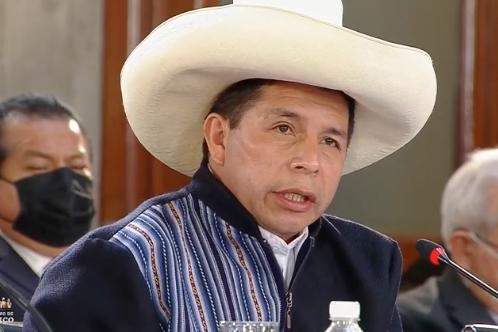 Presidente Castillo llama a la unidad a países de América Latina y el Caribe