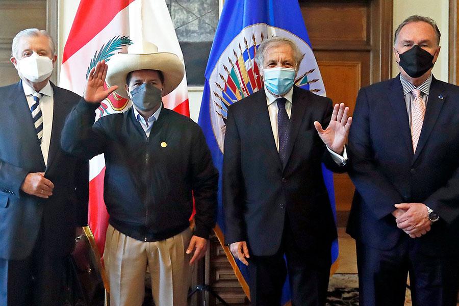 Pedro Castillo: Gobierno está comprometido en acabar con la desigualdad y la corrupción