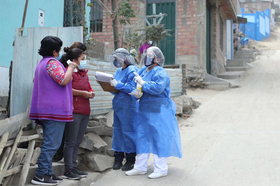 Vacunación: esfuerzo sin límites del personal de salud