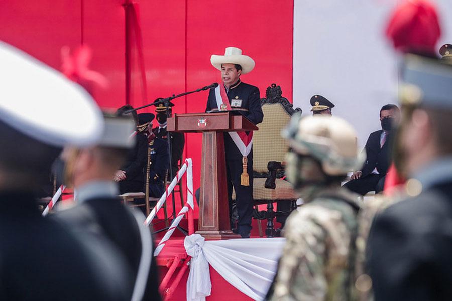 """Presidente: Fuerzas Armadas son ejemplo de integridad y solidez"""""""