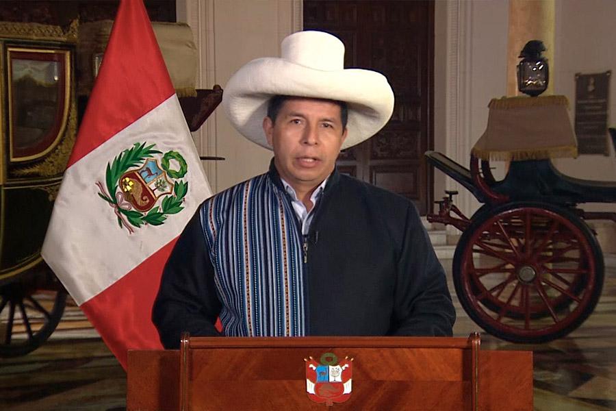 Presidente Castillo saluda al Diario El Peruano por sus 196 años