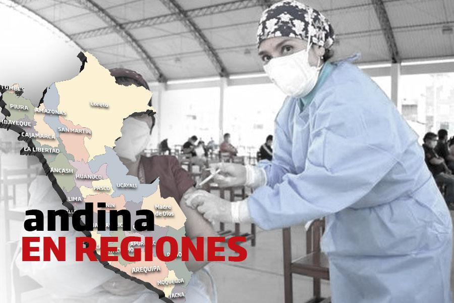 Coronavirus en Perú: personal de salud en Arequipa recibe tercera dosis