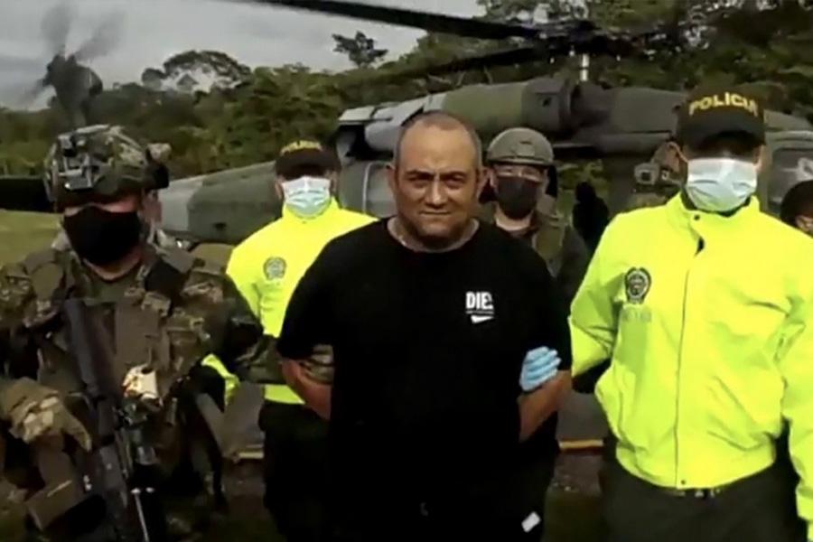 Capturan al principal capo de la droga de Colombia