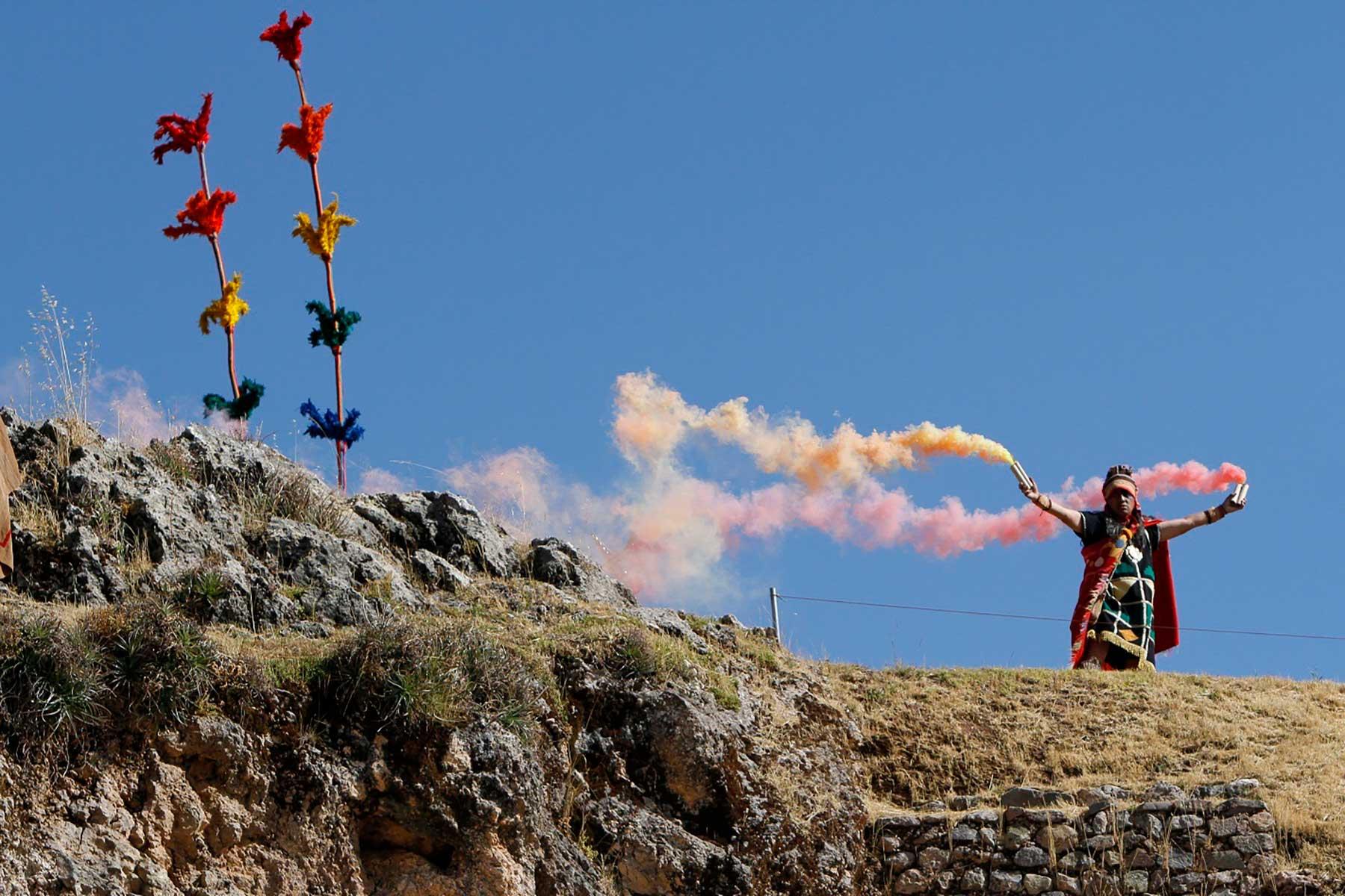 El Inti Raymi espera contar con un sello verde en el 2020, por lo que este año se han fortalecido las prácticas sostenibles en armonía con el medio ambiente.