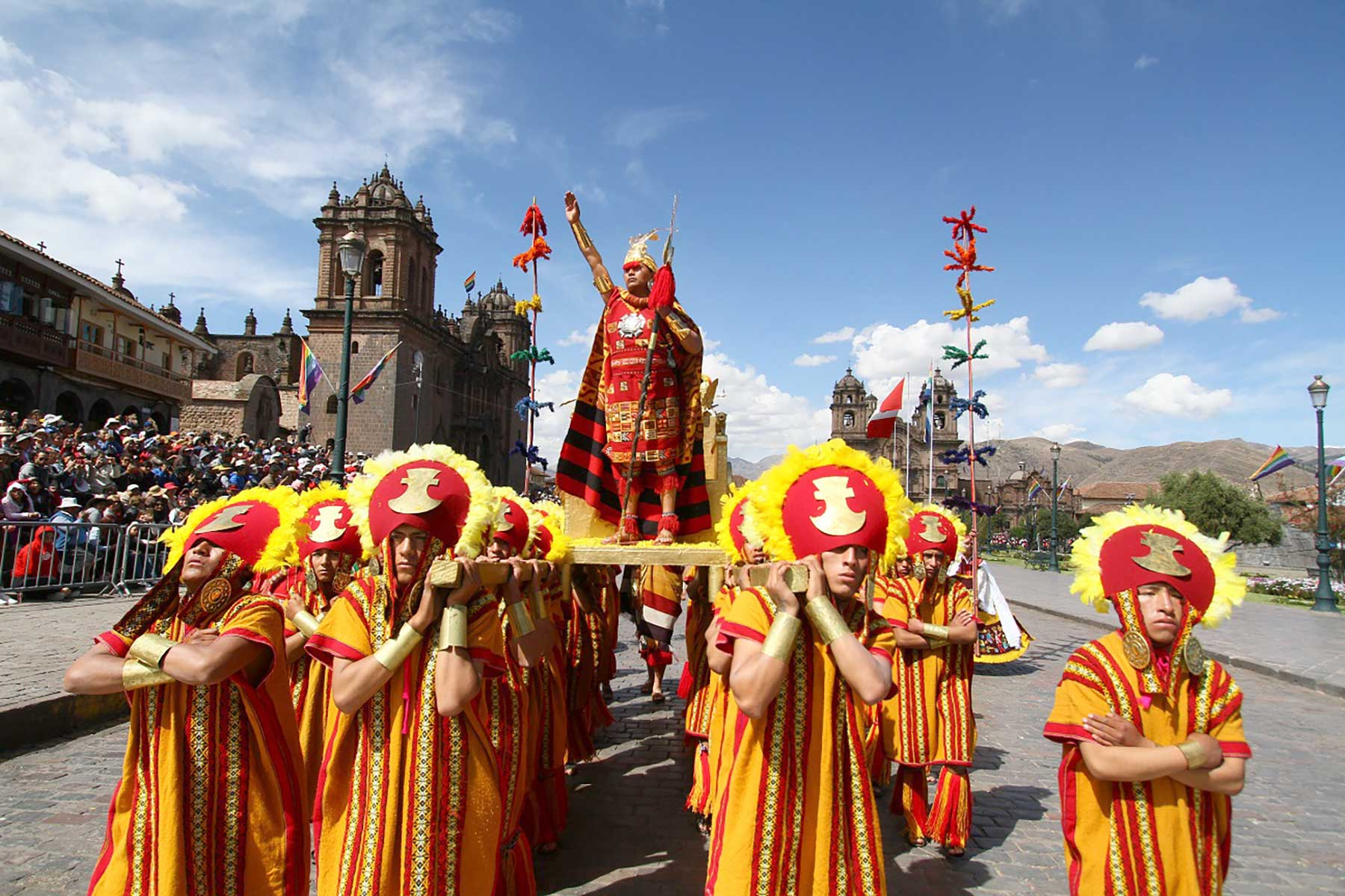 Inti Raymi: el inca y su majestuosa fiesta