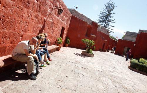 El monasterio de Santa Catalina es uno de los atractivos turísticos más importantes de Arequipa.