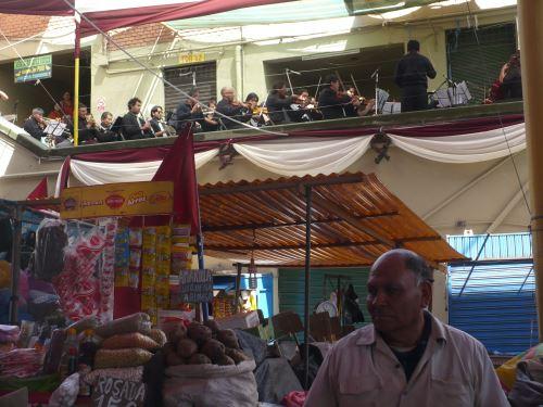El mercado San Camilo forma parte del patrimonio de la ciudad de Arequipa.