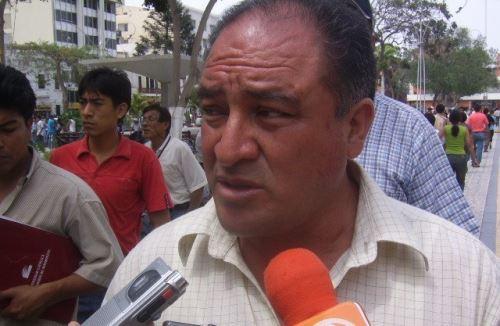 El exalcalde de Chiclayo, Roberto Torres, es acusado de habilitar indebidamente botaderos en Reque.
