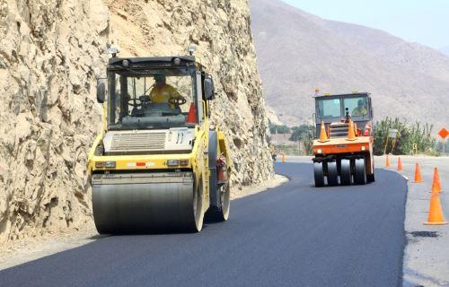 La obra vial permitirá a la población de Canta y Pasco contar con una infraestructura adecuada.