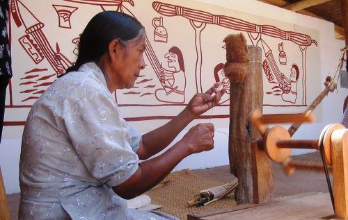 El cultivo y uso del algodón nativo tiene orígenes ancestrales en Lambayeque.