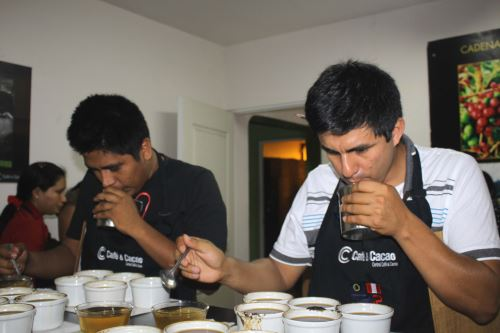 Capacitación busca fortalecer capacidades de los productores de café.