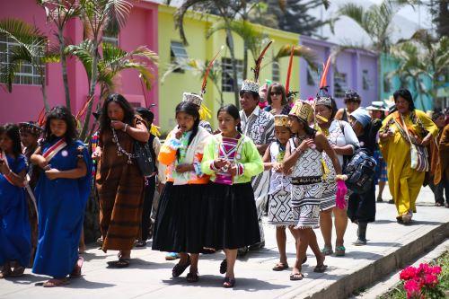 Ministerio de Cultura ejecutará acciones para revalorar poblaciones indígenas y afroperuanas.
