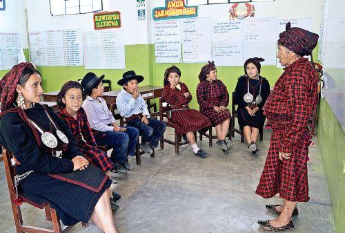 El jaqaru es una lengua originaria que se habla en la provincia de Yauyos, en la sierra de Lima.