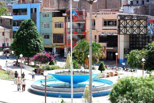 La ciudad de Jaén, en Cajamarca, fue remecida esta madrugada por un sismo de magnitud de 3.8.