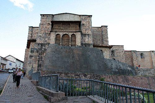 El palacio de Coricancha es una muestra de la grandeza de la arquitectura inca en Cusco.