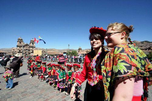 Cusco es el destino de los turistas extranjeros que visitan el Perú.